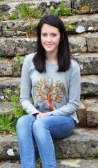 'Tree of life' Top Grey