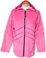 ***SALE*** Velvet Pixie Hood Jacket Pink