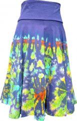 ***SALE*** Tie dye Midi Skirt Blue