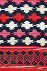 Maltese Blanket/shawl Black M/C