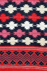 Maltese Blanket/shawl Black M/C