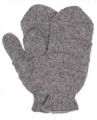 Fleece lined mittens  Ridge Grey