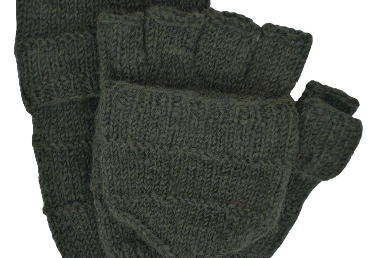 Knitting Pattern For Fold Over Mittens : Fold over mitts - classic at Black Yak